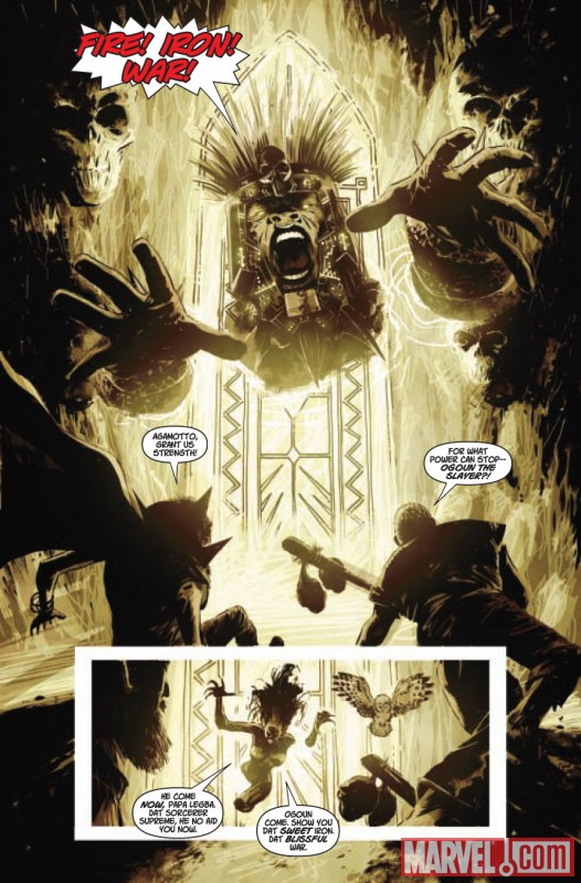 Doctor Voodoo: Avenger of the Supernatural (2009) #3