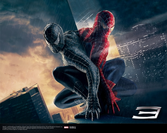 Spider-Man 3 Movie: Back to Back Spidey #2