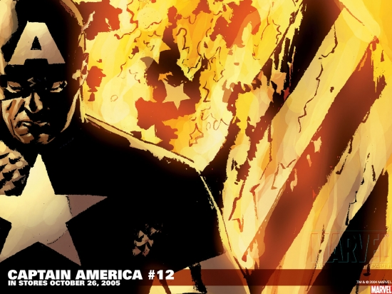 Captain America (2002) #12 Wallpaper