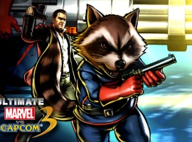 Rocket Raccoon and Frank West Join UMvC3