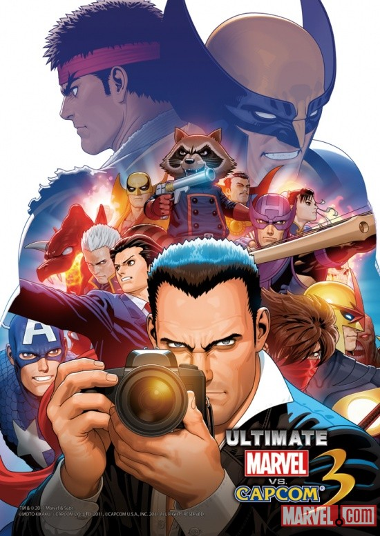 Ultimate Marvel vs. Capcom 3 Poster by Shinkiro