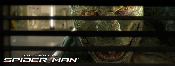 Lizard in The Amazing Spider-Man