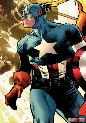 Captain America by Olivier Coipel