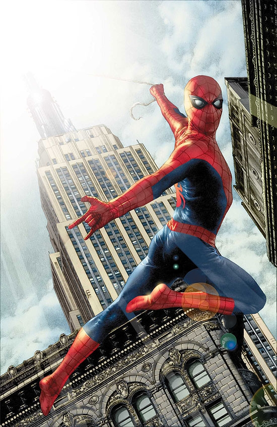 SPIDER-MAN SPECIAL: BLACK AND BLUE AND READ ALL (2008) #1 COVER