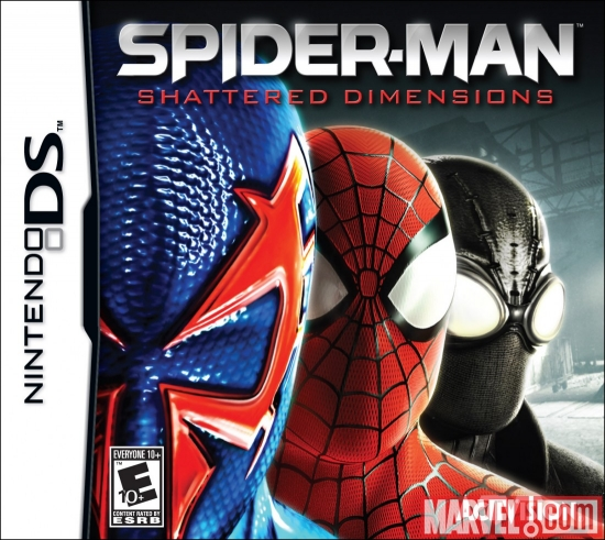 Spider-Man: Shattered Dimensions NDS box art
