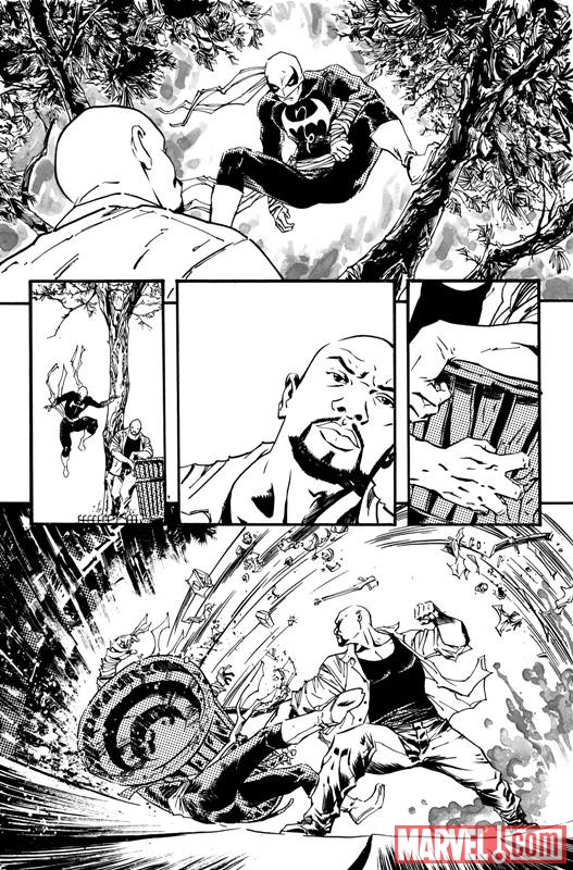 THUNDERBOLTS #148 black and white preview art by Declan Shalvey 1