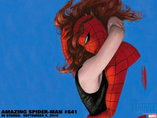 Amazing Spider-Man (1999) #641 (COVER VARIANT) Wallpaper