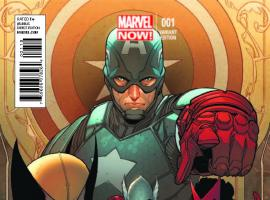 UNCANNY AVENGERS 1 PICHELLI VARIANT (NOW, WITH DIGITAL CODE)