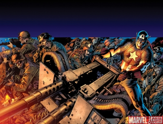CAPTAIN AMERICA: REBORN #3 cover by Bryan Hitch