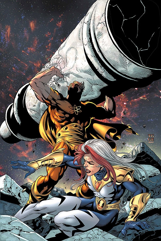 THUNDERBOLTS (2008) #107 COVER