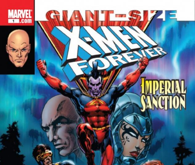 X-MEN FOREVER GIANT-SIZE #1 cover art by Mike Grell