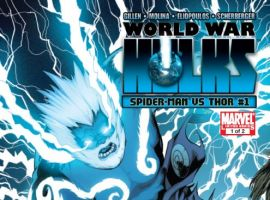 WORLD WAR HULKS: SPIDER-MAN VS. THOR #1 cover by Barry Kitson