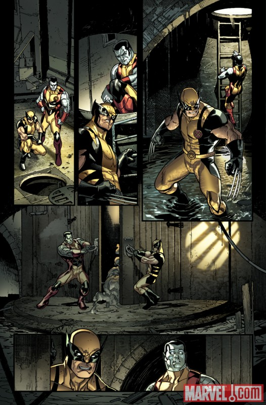 X-MEN #2 preview art by Paco Medina 5