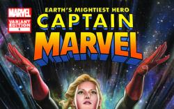 CAPTAIN MARVEL 1 GRANOV VARIANT (1 FOR 25)
