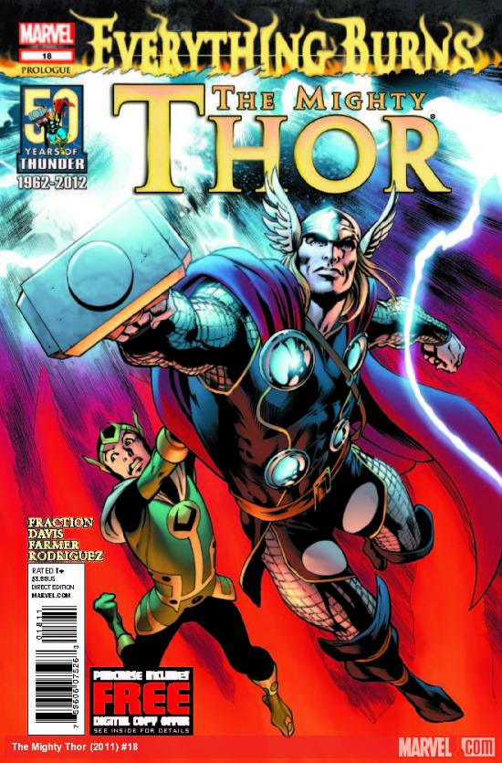THE MIGHTY THOR 18 (WITH DIGITAL CODE)