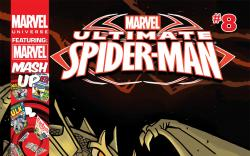 Marvel Universe ULTIMATE SPIDER-MAN (2011) #8 Cover