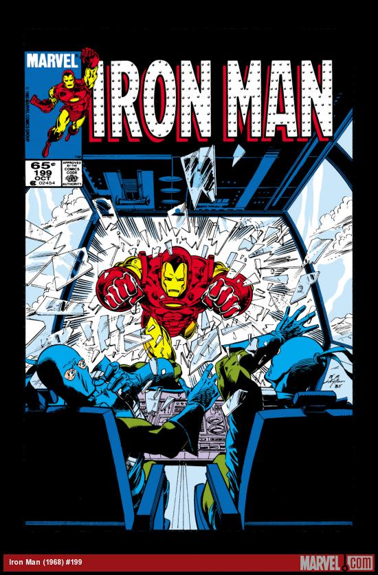 Iron Man (1968) #199 Cover