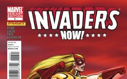 INVADERS NOW! #3 variant cover by Ramona Fradon