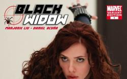 Black Widow (2010) #1 (MOVIE VARIANT)