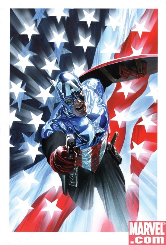 The new Captain America by Alex Ross