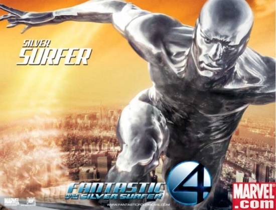 Silver Surfer International Movie Poster 2