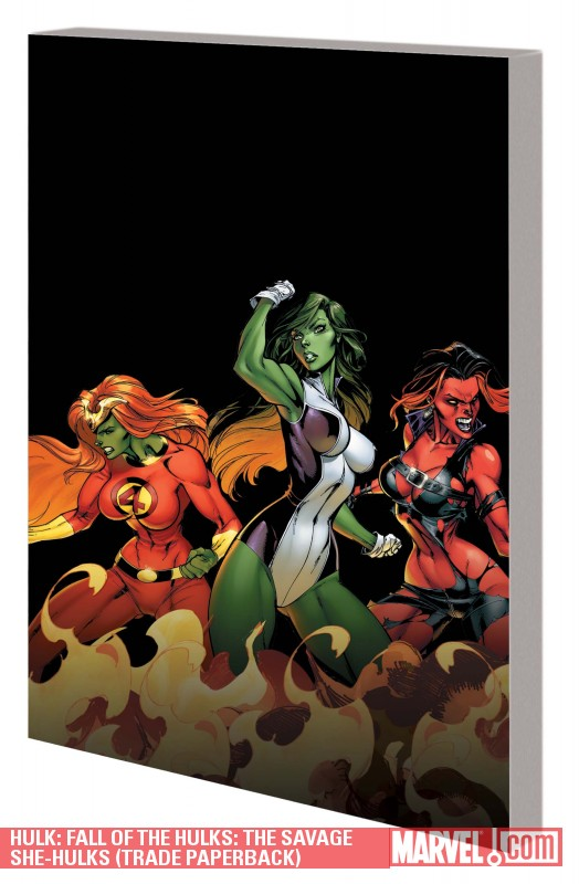 Hulk: Fall of the Hulks: The Savage She-Hulks (Trade Paperback)