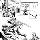 VALKYRIE #1 black and white preview art by Phil Winslade 6