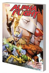 Alpha Flight By Greg Pak &amp; Fred Van Lente Vol. 1 TPB (Trade Paperback)