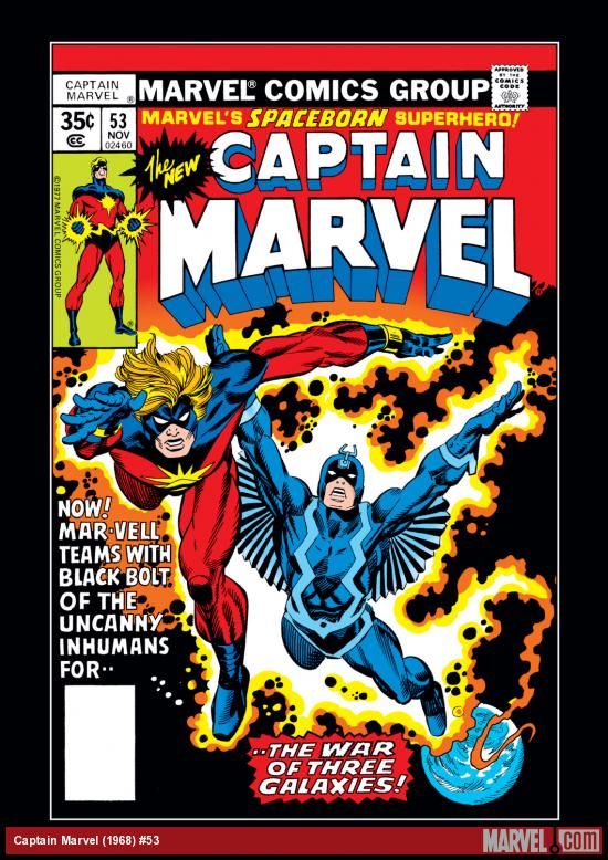 Captain Marvel (1968) #53 Cover