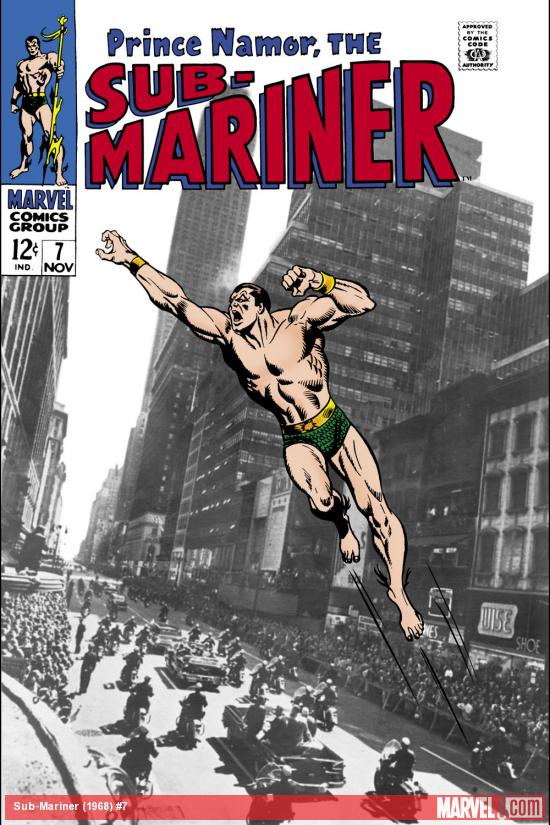 Sub-Mariner (1968) #7 Cover