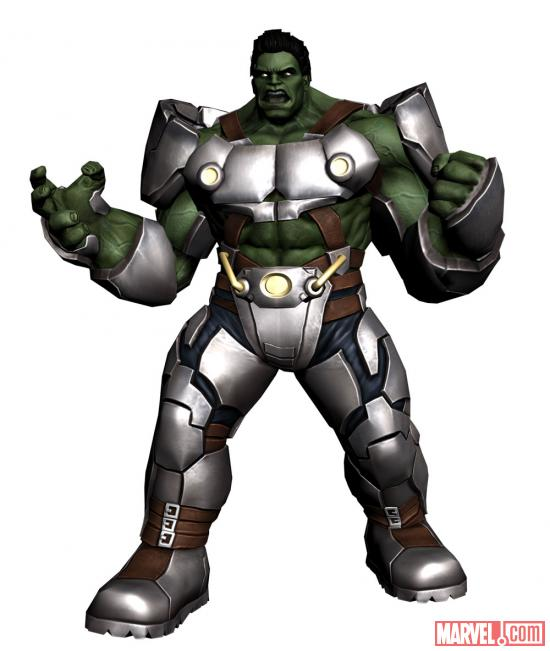 Indestructible Hulk character model from Avengers Initiative