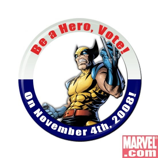 Be a Hero, Vote!