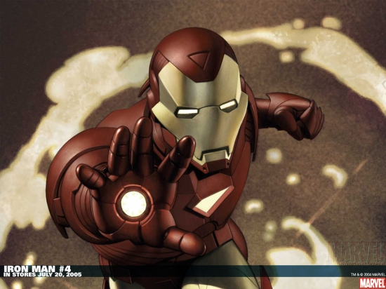 Iron Man (0000) #4 Wallpaper