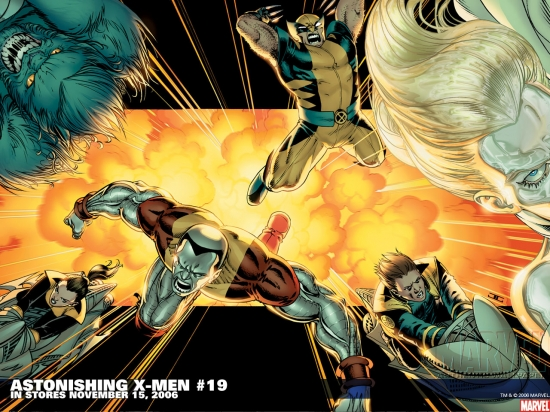Astonishing X-Men (2004) #19 Wallpaper