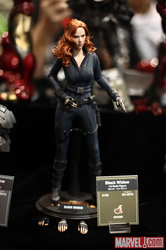 Black Widow from Iron Man 2 statue from Sideshow Collectibles