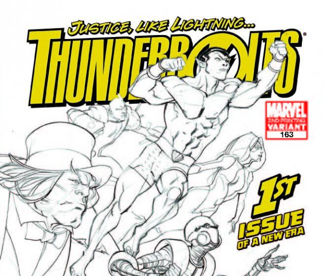 THUNDERBOLTS 163 2ND PRINTING VARIANT