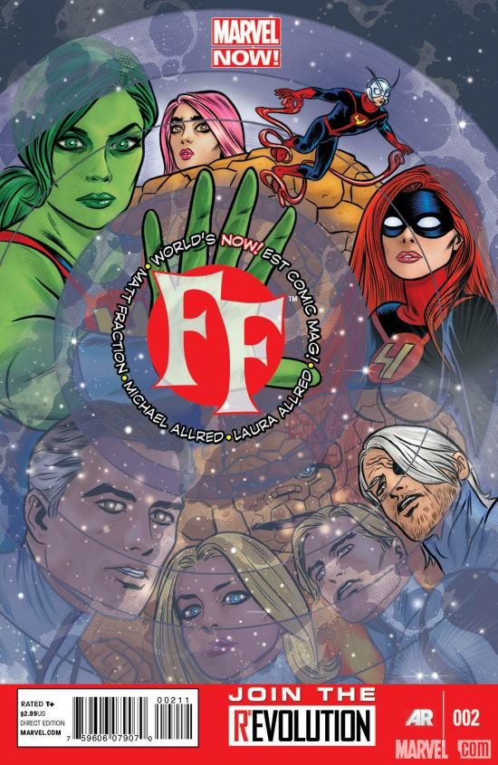 FF (2012) #2 cover by Mike Allred