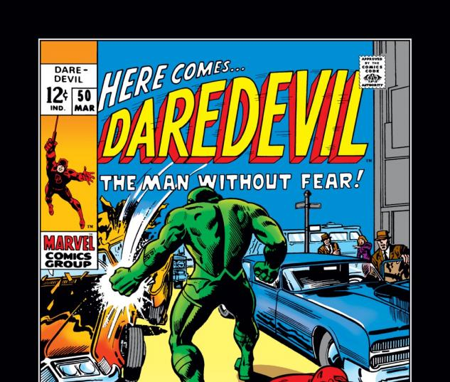 Daredevil (1963) #50 Cover