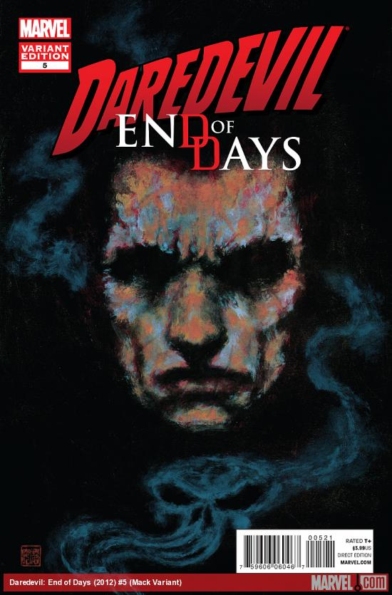 cover from Daredevil: End of Days (2012) #5 (TBD ARTIST VARIANT)