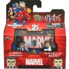 J. Jonah Jameson and S.H.I.E.L.D. Agent Minimates from The Jean DeWolff Saga
