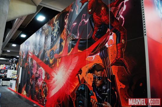 SDCC 2012: Marvel Booth