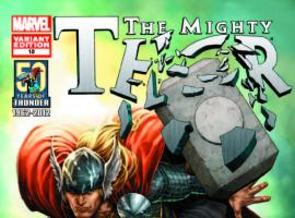 THE MIGHTY THOR 18 THOR 50TH ANNIVERSARY MCNIVEN VARIANT (WITH DIGITAL CODE)