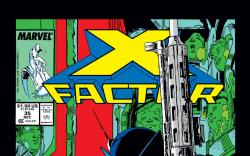X-Factor (1986) #35 Cover