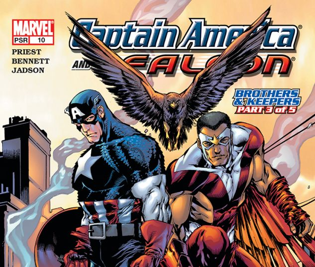 Captain America and the Falcon (2004) #10