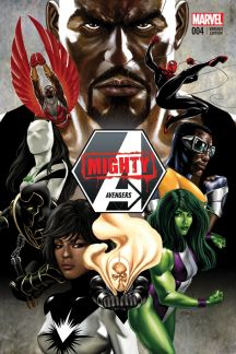 Mighty Avengers #4  (Epting Variant)