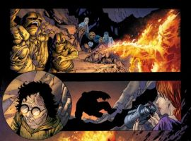 ULTIMATE FANTASTIC FOUR #58 preview art by Tyler Kirkham