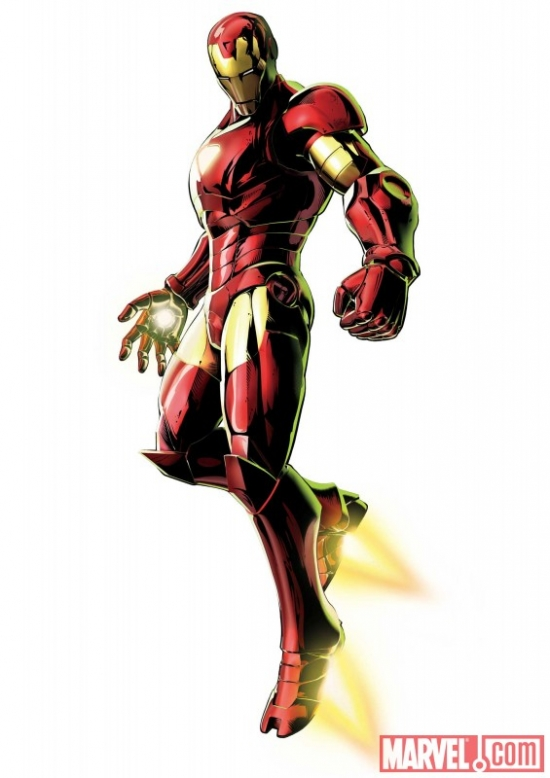 Marvel vs. Capcom 3: Fate of Two Worlds Iron Man promo art
