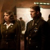 Chris Evans and Hayley Atwell star in Captain America: The First Avenger