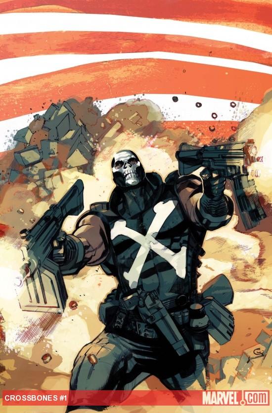 Captain America and Crossbones #1 cover by Greg Tocchini