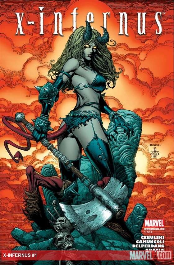 X-Infernus (2008) #1 Cover